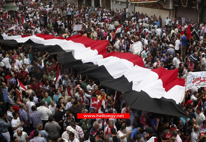 Millions flood Egypt's streets to demand Mursi quit