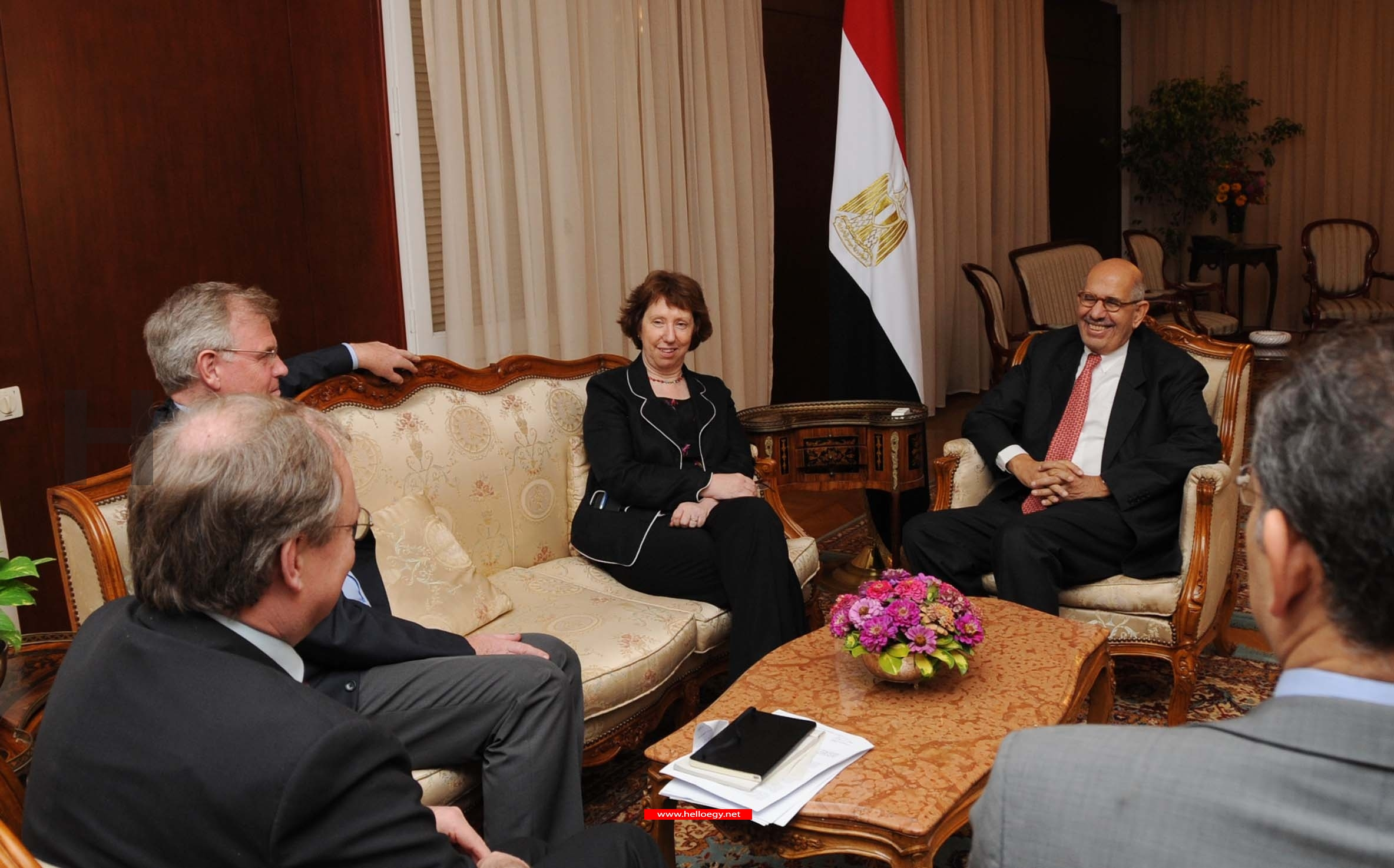 An interview with Mohamed ElBaradei, who hopes for reconciliation in Egypt