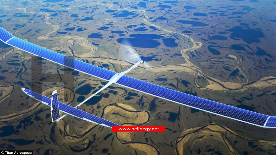 a solar-powered drone fly for five years without stop