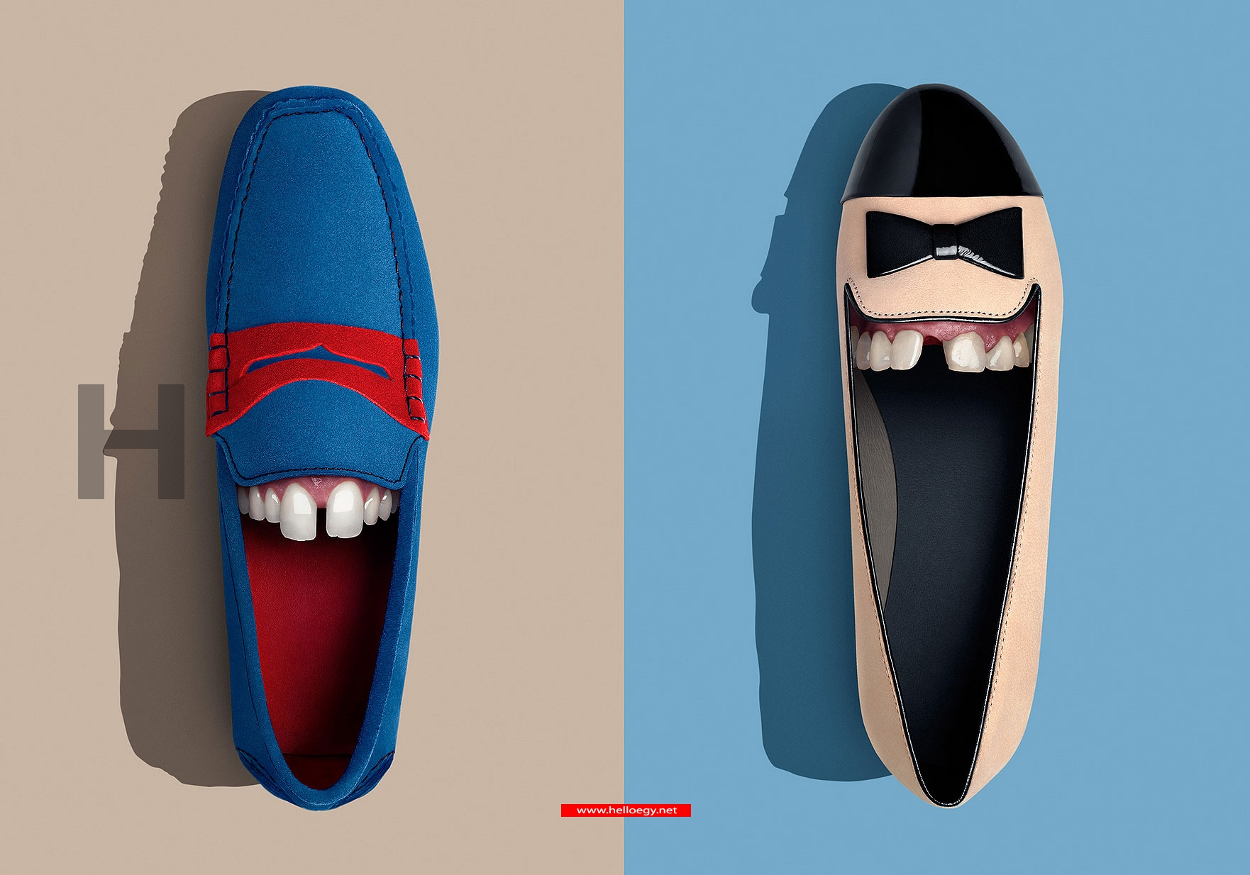 A New Fed .. Shoes with Teeth