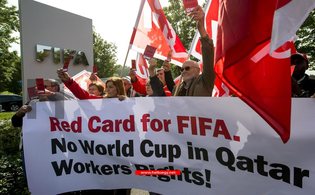 Mirror : Qatar accused of working 1,200 people to death in £39billion building bonanza for 2022 World Cup