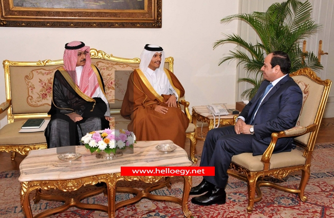 Popular Egyptian refusal for the meeting of Sisi with the Qatari Prince