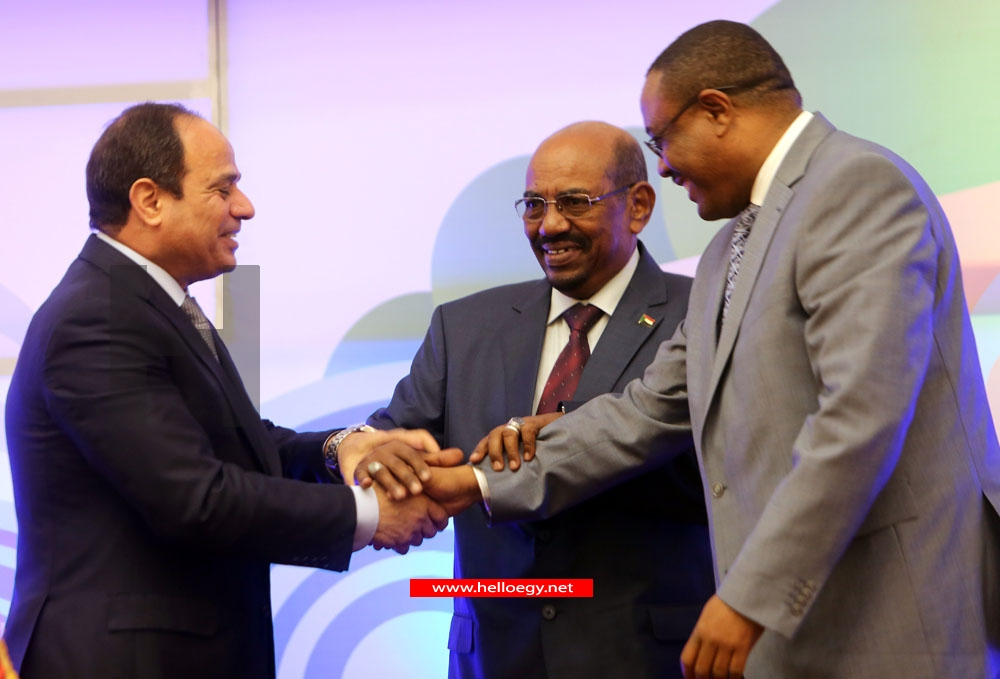 Egypt, Ethiopia, Sudan sign agreement on Nile dam