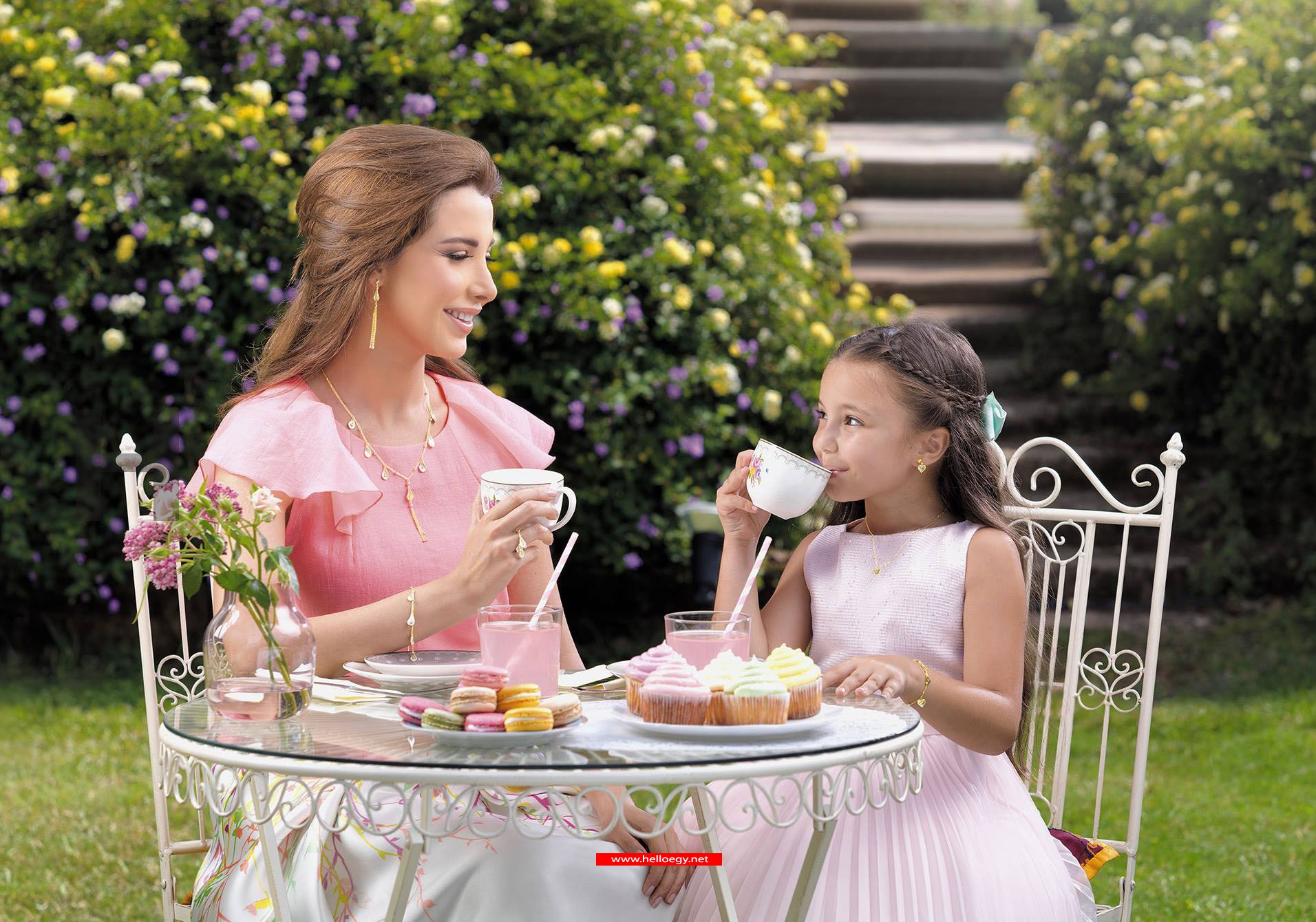Nancy Ajram designs Jewelry for Children