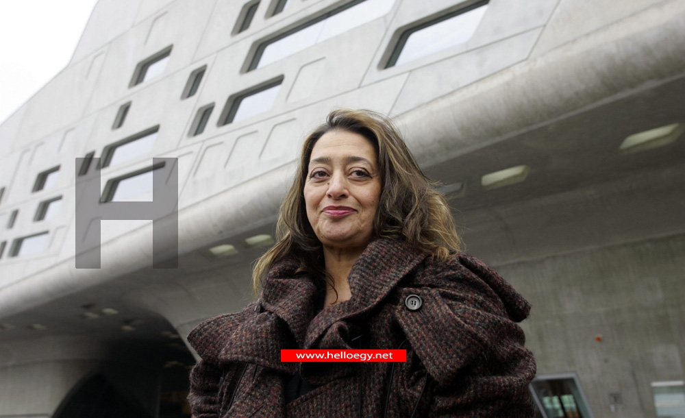 Iraqi-British architect Zaha Hadid dies suddenly